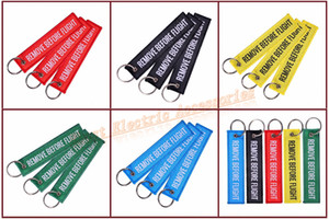 Wholesale New Colorful Remove Before Flight Weaving Canvas Luggage Tag Label Key Chain Mobile Phone Tag