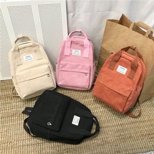Wholesale backpacks for college resale online - New Trend Female Backpack Fashion Women Backpack College School Bagpack Harajuku Travel Shoulder Bags For Teenage Girls