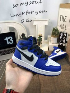 Lair 1 JORDAN 1 Signed OG 1 1s Youth Kids Basketball Shoes Chicago New retro Born Baby Infant Toddler Trainers Small Boys Girls Sneaker fsef