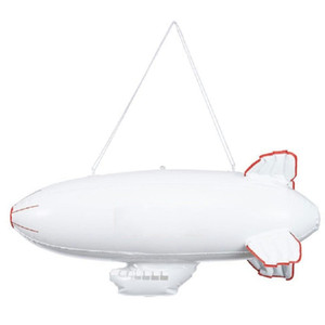Wholesale Inflation Aircraft Model Sup Beach Airship Toys Kid Air Plane PVC Empty Ball Eco Friendly White Creative sl C1