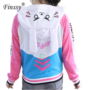 Anime Clothes Game DVa Hoodie Cosplay Costume Adult Baseball Coat Jacket feminino Cosplay thin Hoodies for Men Women