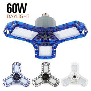 2020 40W 60W E26 e27 360 Degree Lights For Garage Led Ceiling Light Triple Glow Deformable Garage Light Led Light For Garage Led Lamp