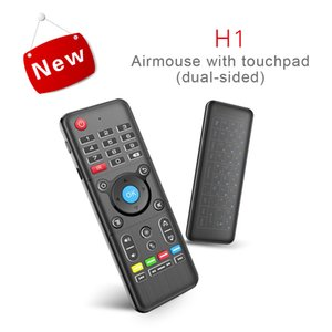 2.4G AirMouse + Keyboard (IR Learning) Smart Wireless Remote Control 6Axis Gyroscope Air Mouse for Android TV BOX