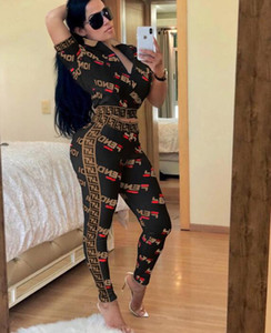 Wholesale 119 Fashion Women Print Tracksuits Two Piece Woman Set Sweatsuits Sport Outfit designer Tracksuit sweatsuit plus size jogging suits