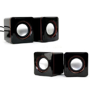Cheap 6W USB Portable Computer Speakers USB Stereo Combination Speakers with 3.5mm Jack USB Powered 2.0 Subwoofer PC Speaker