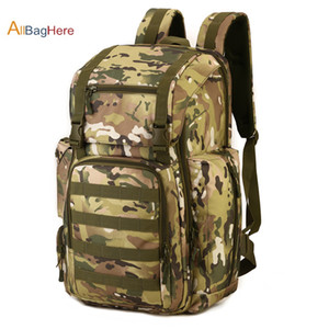 "40L 17"" Laptop Backpack Waterproof Nylon bag Molle Army Back Pack Travel Rucksack Outdoor Hunting Ammo Army Camping Bag"