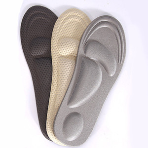 Wholesale 4D Flock Memory Foam Orthotic Insole Arch Support Orthopedic Insoles For Shoes Flat Foot Feet Care Sole Shoe Orthopedic Pads