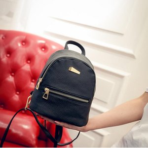wholesale new Korean version fashion Simple Double back Mini Little girl Leisure zipper backpacks handbags bags
