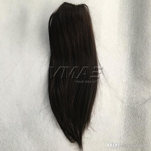 Wholesale 16 613 hair for sale - Group buy VMAE Straight Clip in Drawstring Human Ponytails quot g Brazilian Ponytails Natural Color Virgin Human Hair VMAE Hair
