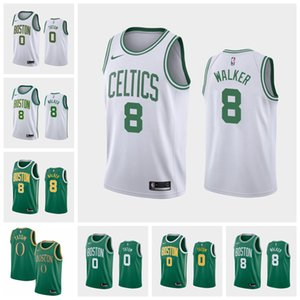 Wholesale Boston Celtics Kemba Walker Jayson Tatum Earned Basketball Association Icon City Edition Jersey