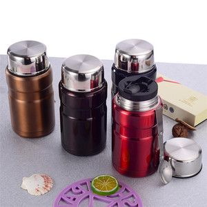 Wholesale TOPSTECH ML Insulated Cup Vacuum Flasks Thermoses Thermocup Lunch Thermos Food Containers Thermo Pot Box