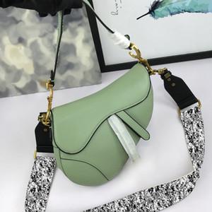Top Version Best Quality D designer womens saddle handbag shoulder bag genuine leather Messenger luxury fashion crossbody Fast Shipping