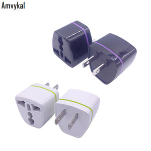 Wholesale electrical sockets for sale - Group buy Amvykal High Quality WN Pins AC Power Electrical Plug Adaptor Socket Universal USA Travel UK AU EU To US Plug Adapter Converter
