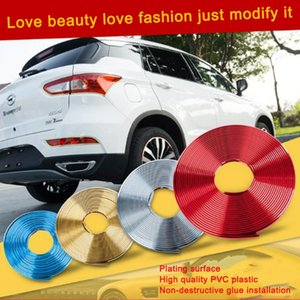 Wholesale Car Wheel Decorative Strips Wheel Stickers Car Modified Protection Ring Modified Plating Decorative Strip