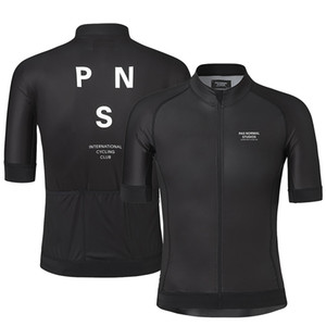 2019 Pro Team PNS Summer Cycling Jersey For Men Short Sleeve Quick Dry Bicycle MTB Bike Tops Clothing Wear Silicone Non-slip