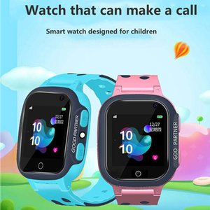 Waterproof Phone Call Camera Gift Silicone Tracker Anti Lost Smart Watch For Kids Children Long Standby Realtime Positioning SOS