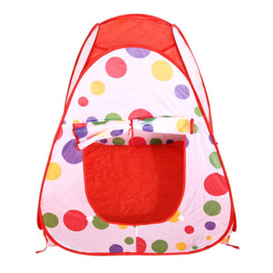 Wholesale Large Portable Ocean Balls Baby Play Tent Kids Indoor Outdoor House Great Toys For Children Gift Adventure Play Tent Toys