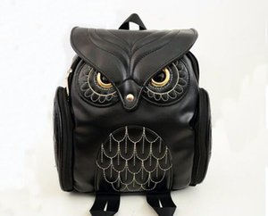 Wholesale bag owl style for sale - Group buy Fashion Newest Fashion owl backpack Women party Backpacks handbag Teenage Girls Double Colleage Bags Ladies Travel Backpack