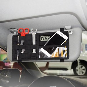 Wholesale Outdoor Vehicle Car Sun Visor Organizer Holder Hunting Car Card Ticket Accessory Storage Molle Pouch Bag