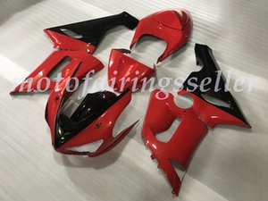 OEM Quality New ABS Injection Mold Fairings kits 100% Fit For Kawasaki Ninja ZX-6R ZX6R 636 2005 2006 Bodywork set glossy Custom Red Black
