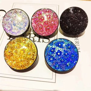 Wholesale Phone Holder Stand D Universal Diamond Crystal Glitter Bling Mobile Phone Stand Finger Ring Smart Phone Holder Bracket