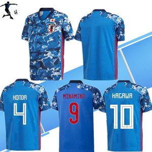 Wholesale 19 Japan home soccer jersey national team ATOM KAGAWA ENDO OKAZAKI NAGATOMO HASEBE KAMAMOTO Adult man and kids kit football Shirt