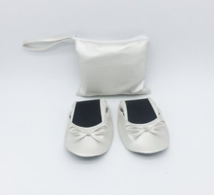 Top Selling Women's Foldable Travel Ballet Flat w  Matching Carrying Case on Sale