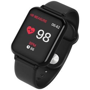 Wholesale 696 B57 smart watch IP67 waterproof smartwatch heart rate monitor multiple sport model fitness tracker man women wearable
