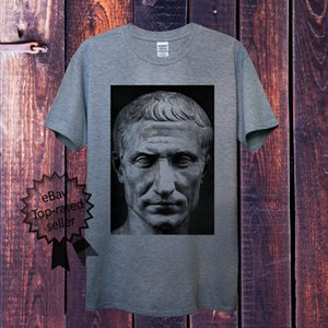 Wholesale Julius Caesar T Shirt For Men Women Unisex Roman Dictator Political Historical denim clothes camiseta t shirt
