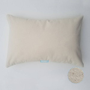 Wholesale 30pcs x18 inches oz WHITE or NATURAL Cotton Canvas Pillow Cover Blanks Perfect For Stencils Painting Embroidery HTV