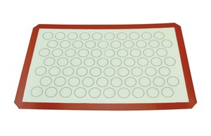 Kitchen cooking tools 60x40CM Silicone baking mat Macaroon pastry pad Non stick Rolling dough pad