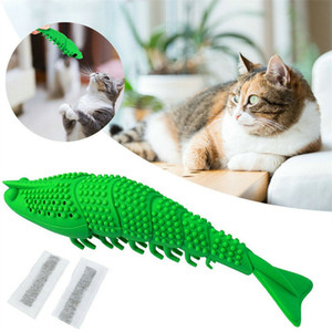 Wholesale Pet Toothbrush Cat Shrimp Toothbrush Pet Eco Friendly Silicone Molar Stick Teeth Cleaning Toy Bad Breath Tartar Teeth Care