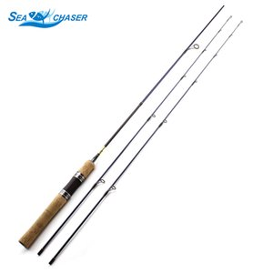 Wholesale 1 m wooden handle ul power tips Spinning Fishing Rod ishing Rods LB Line Weight Light Carbon fishing pole