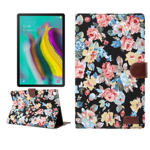 Fabric Leather Case with Card Slot and Holder for Samsung Galaxy Tab S5E 10.5 SM-T720 T720 T725 Tablet Protective Cover