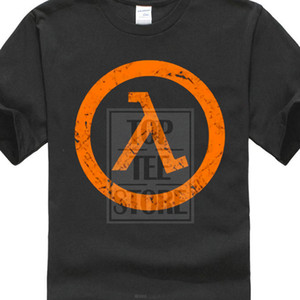 Wholesale Half Life Half Life Video Game Men s Black T Shirt Tee Discount New From Us O Neck Hipster Tshirts
