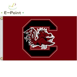 Wholesale Flag of NCAA South Carolina Gamecocks polyester Flag ft ft cm cm Flag Banner decoration flying home garden outdoor gifts