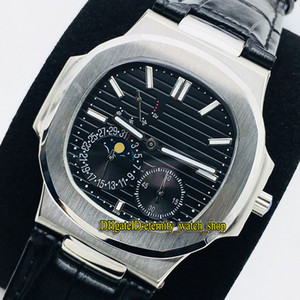 Wholesale steel reserve for sale - Group buy PFF V2 Upgrade version Sport G Moon Phase Power Reserve Black Dial Automatic Mens Watch Sapphire L Steel eternity Watches