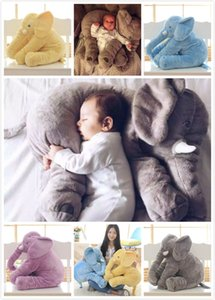 Wholesale 40cm Elephant Plush Elephant Pillow Soft For Sleeping Stuffed Animals Toys Baby s Playmate Gifts for Children Kids