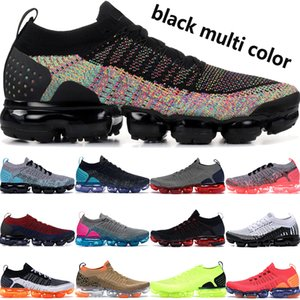 Wholesale Hot black multi color fly mens designer shoes black hot punch gunsmoke blue orbit dark stucco men women fashion running shoes