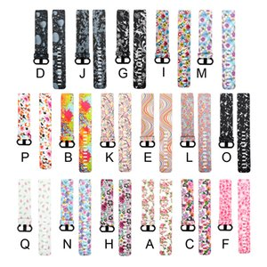 Wholesale 15 Colors Fashion Sport Strap For Fitbit Charge Smart Watch Strap Replacement Printing Silicone Band VS Apple Watch Band