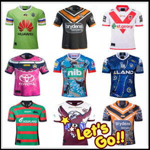 Wholesale 2019 Japan Zealand South Africa rugby jersey Cowboys Manly Warringah Sea Eagles Knights South Sydney Rabbitohs Wests Tigers shirt uniform