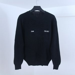 Wholesale Box Logo Mens Designer Sweaters Famous Brand High Quality Sweaters Hoodie Fashion Men Women Round Neck Long Sleeves Colors Size S XL