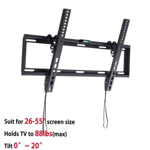 Wholesale General Ultra Slim Plasma Tilted TV Mount Monitor LCD LED HD TV Stand Wall Mount Bracket Fit for quot quot Max