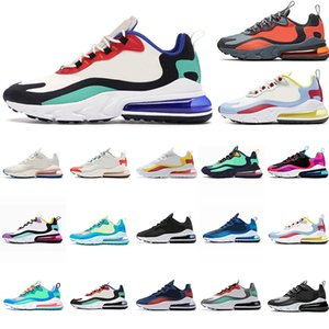 BAUHAUS React Grey and Orange Hues Blue Void Bright Violet triple women mens shoes Green OPTICAL Black white star men sports sneakers on Sale