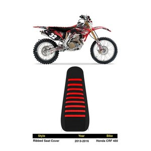 2013-2016 CRF450 ribbed GRIPPER SEAT COVER Factory Outlet for HONDA BMW YAMAHA SUZUKI KTM KAWASAKI motocross OFFROAD racing parts