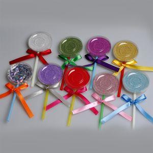 Shimmer Lollipop Lashes Package Box 3D 5D Mink Eyelashes Boxes Fake False Eyelashes Packaging Case Empty Eyelash Box Cosmetic Tools