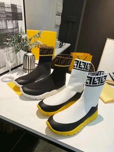 Wholesale Alpha Alpha LuxuryLouis Vuitton gucci fendi High end Menautumn and winter socks boots sneakers large size