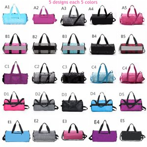 Wholesale Pink Grey Colors Duffel Bag Big Large Storage Men Women Travel Bag Hangbag Waterproof Duffel Bags Luggage Bags Fast shipping