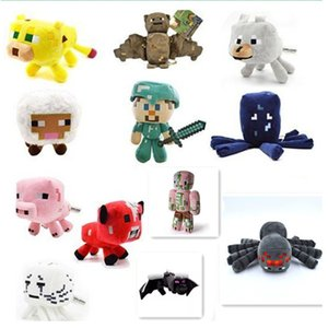 Steve Mine Word Game Serise Stuffed Animals Doll Toys All Complete Character Plush Toys Best Gifts For Kids