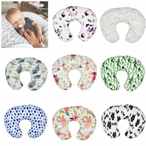 Wholesale infant nursing pillow for sale - Group buy Nursing Soft Pillow Covers Baby Pillow Case Infant Cuddle U Shaped Pillowcase Car Sofa Cushion Cover Kids Feeding Waist Pillowcase C176